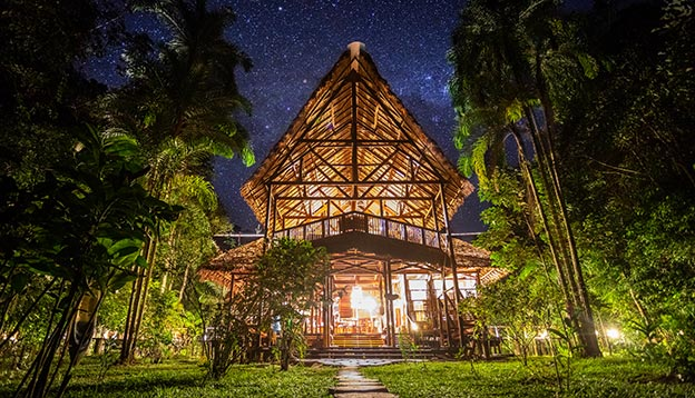 Sustainable Travel - Amazon eco lodges