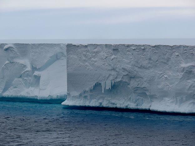 Ross Ice Shelf - East Antarctica.