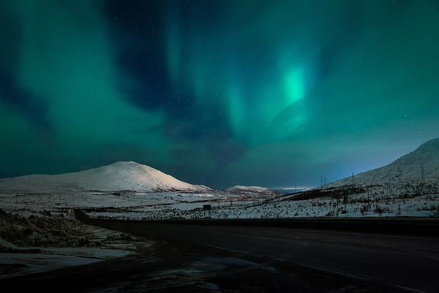 Aurora Borealis - The Northern Lights.