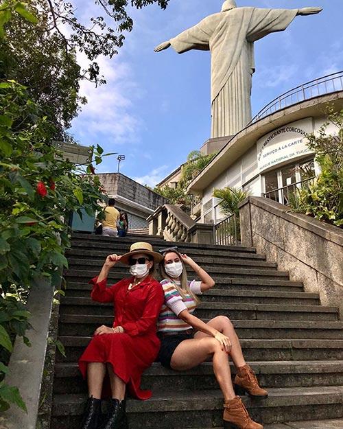 tourists in Brazil September 2021