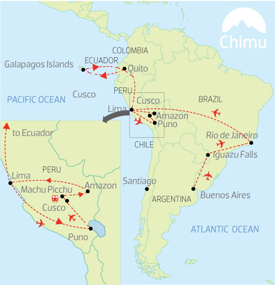 Tick off South America's big five with Chimu Adventures