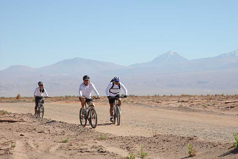 Bike Riding in the Atacama Desert in Chile with Chimu
